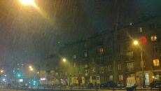 Śnieg na Pradze / Kontakt Meteo/ASmol