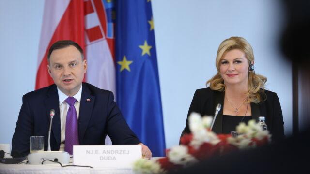 Prezydent Chorwacji po spotkaniu z prezydentem Dudą: Adriatyk to ...