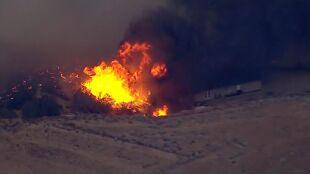 Pożar w Kalifornii. 82 tysiące ewakuowanych