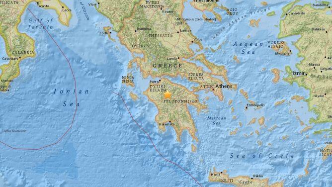 W Grecji zatrzęsła się ziemia. <br />Wstrząsy odczuwalne w Atenach