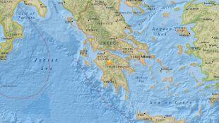 W Grecji zatrzęsła się ziemia. Wstrząsy odczuwalne w Atenach