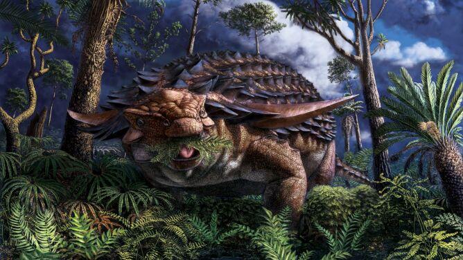 Jak wyglądał ostatni posiłek nodozaura?