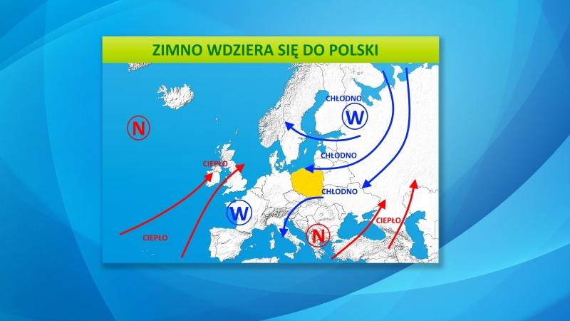 Fronty atmosferyczne nad Europą