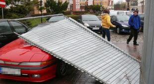 Skutki poniedziałkowych wichur w Polsce