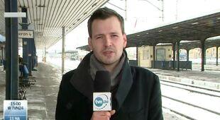 Opóźnienia na kolei (TVN24)